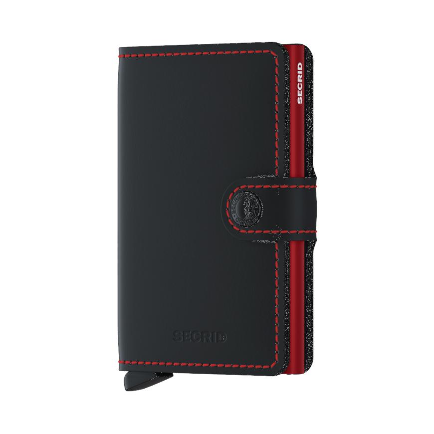 Secrid Mini Matte Black-Red